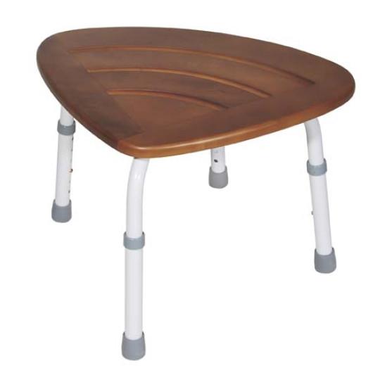 Pleasing K D Teak Adjustable Height Bath Stool Onthecornerstone Fun Painted Chair Ideas Images Onthecornerstoneorg