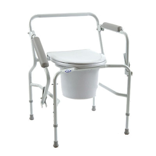 Groovy Drop Arm Commode Pabps2019 Chair Design Images Pabps2019Com