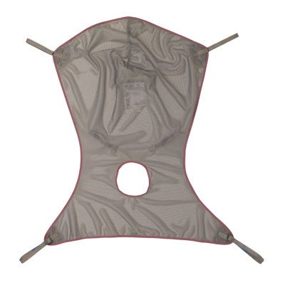 Invacare Comfort Sling with Commode - Net Fabric