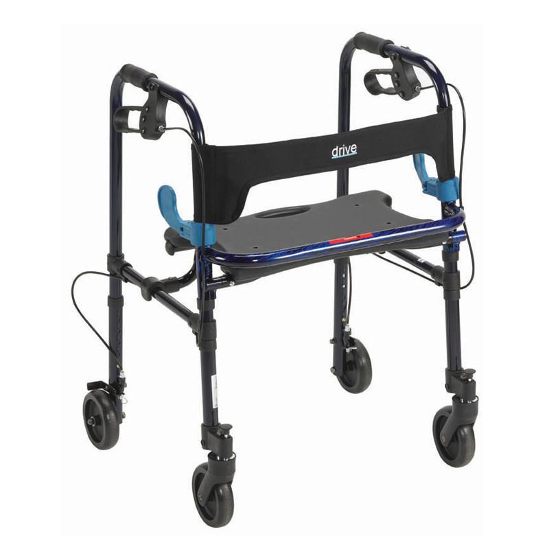 Clever-Lite Walker w/ Seat and Loop Locks