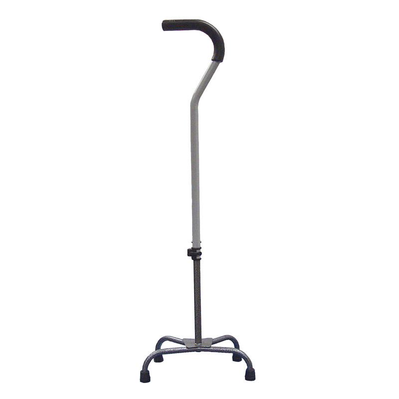 Quad Cane w/ Silver Vein Finish