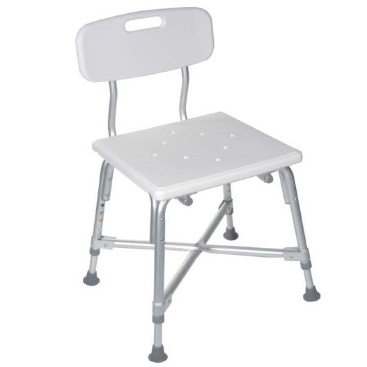 Deluxe Bariatric Bath Bench with Cross Frame Brace - 12029-1