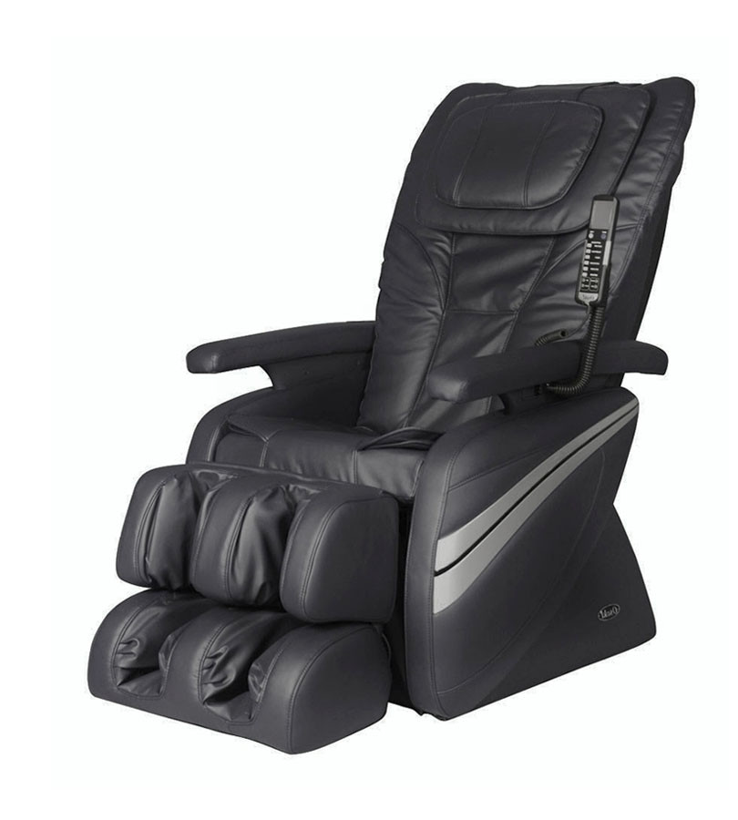 Osaki 1000 Massage Chair - Black  - Front Angle View