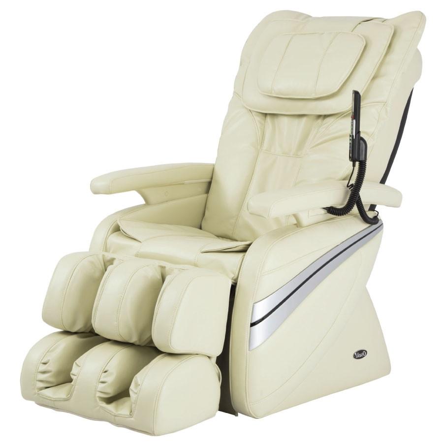 Osaki 1000 Massage Chair - Cream - Front Angle View