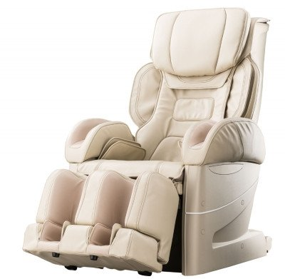 Osaki Japan 4D Premium Massage Chair - Beige - Front Angle View