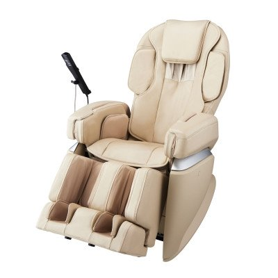 Osaki Japan 4.0 Premium Massage Chair - Cream - Front Angle View