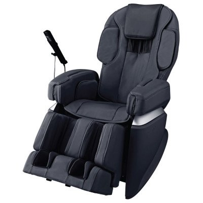 Osaki Japan 4.0 Premium Massage Chair - Black  - Front Angle View
