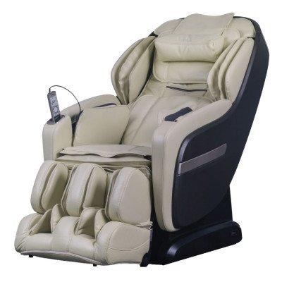 Titan OS-Pro Summit Massage Chair - Cream - Front Angle View