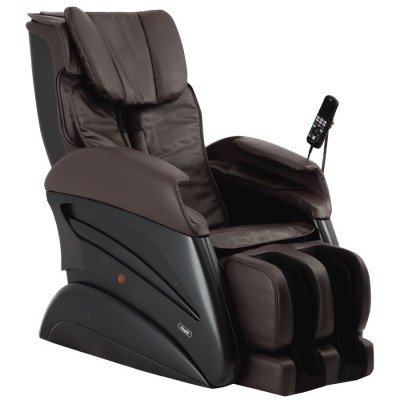 Osaki TW- Chiro Massage Chair - Black - Front Angle View