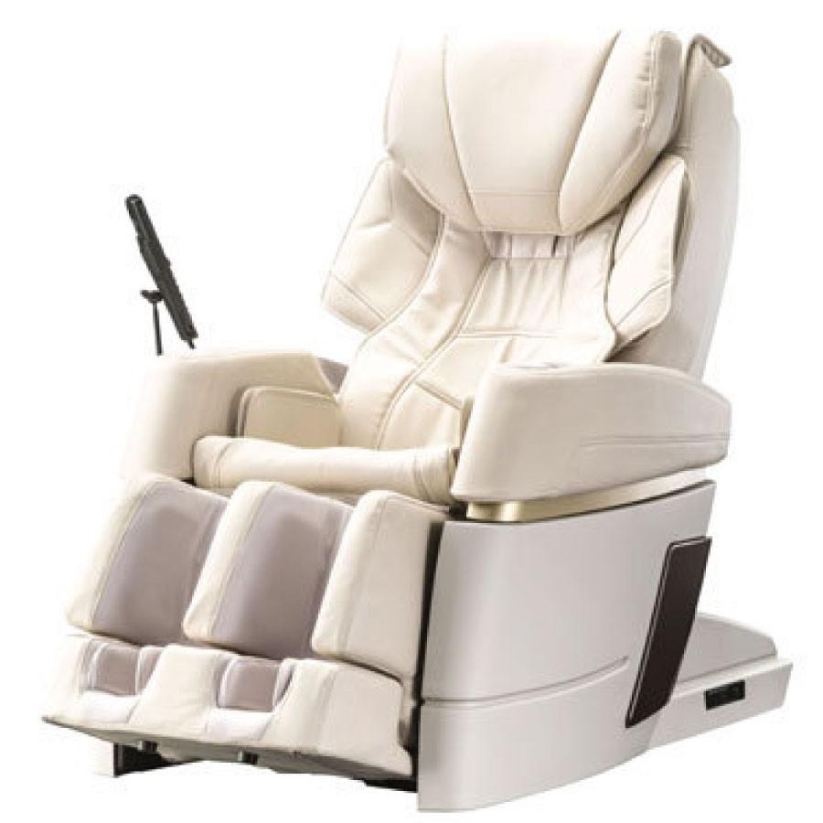 Kiwami 4D-970 Japan Massage Chair - Cream -  Front View