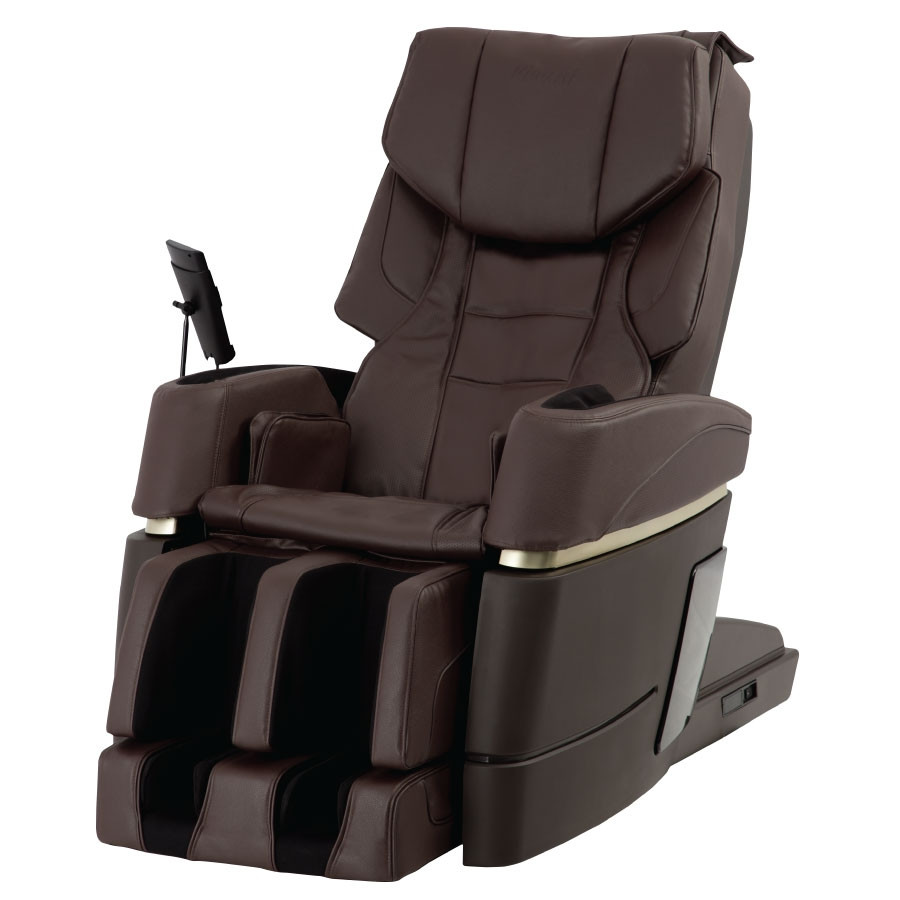 Kiwami 4D-970 Japan Massage Chair - Brown - Front View