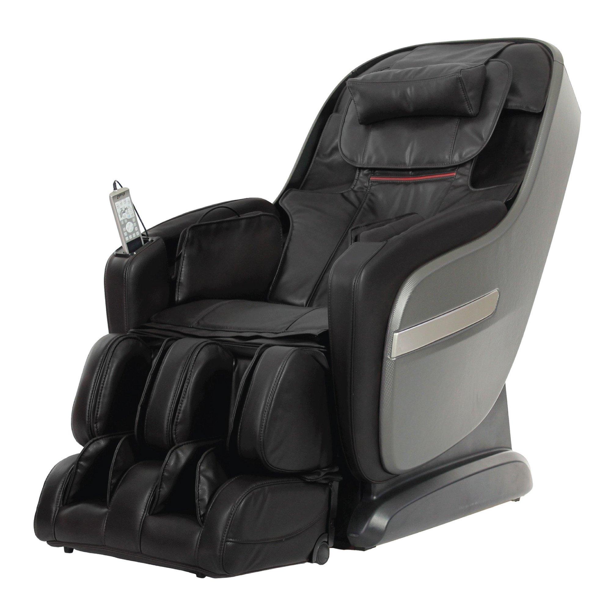 Titan Alpine Massage Chair - Black - Front Angle View