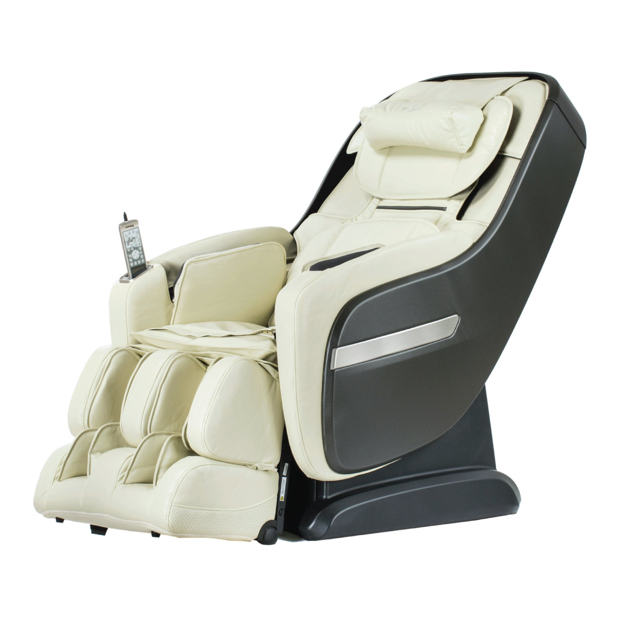 Titan Alpine Massage Chair - Cream - Front Angle View