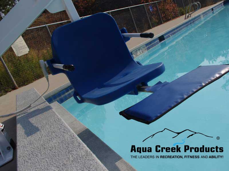 Aqua Creek Ambassador Extended Reach Pool Lift