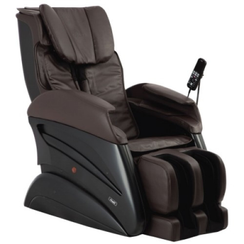 Osaki TW- Chiro Massage Chair - Brown - Front Angle View