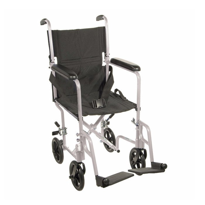 Lightweight Aluminum Transport Chair  sc 1 st  Amica Medical Supply : chair transport - Cheerinfomania.Com