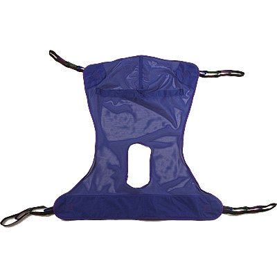 Invacare Full Body Sling w/ Commode -Large