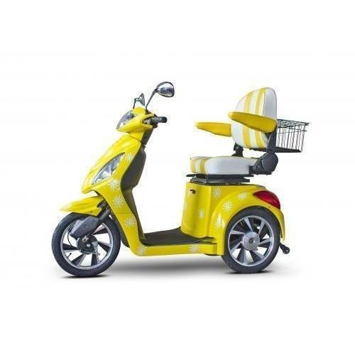 """E-Wheels Custom Boutique Scooter EW-82  """"Happy Day"""" - Yellow"""