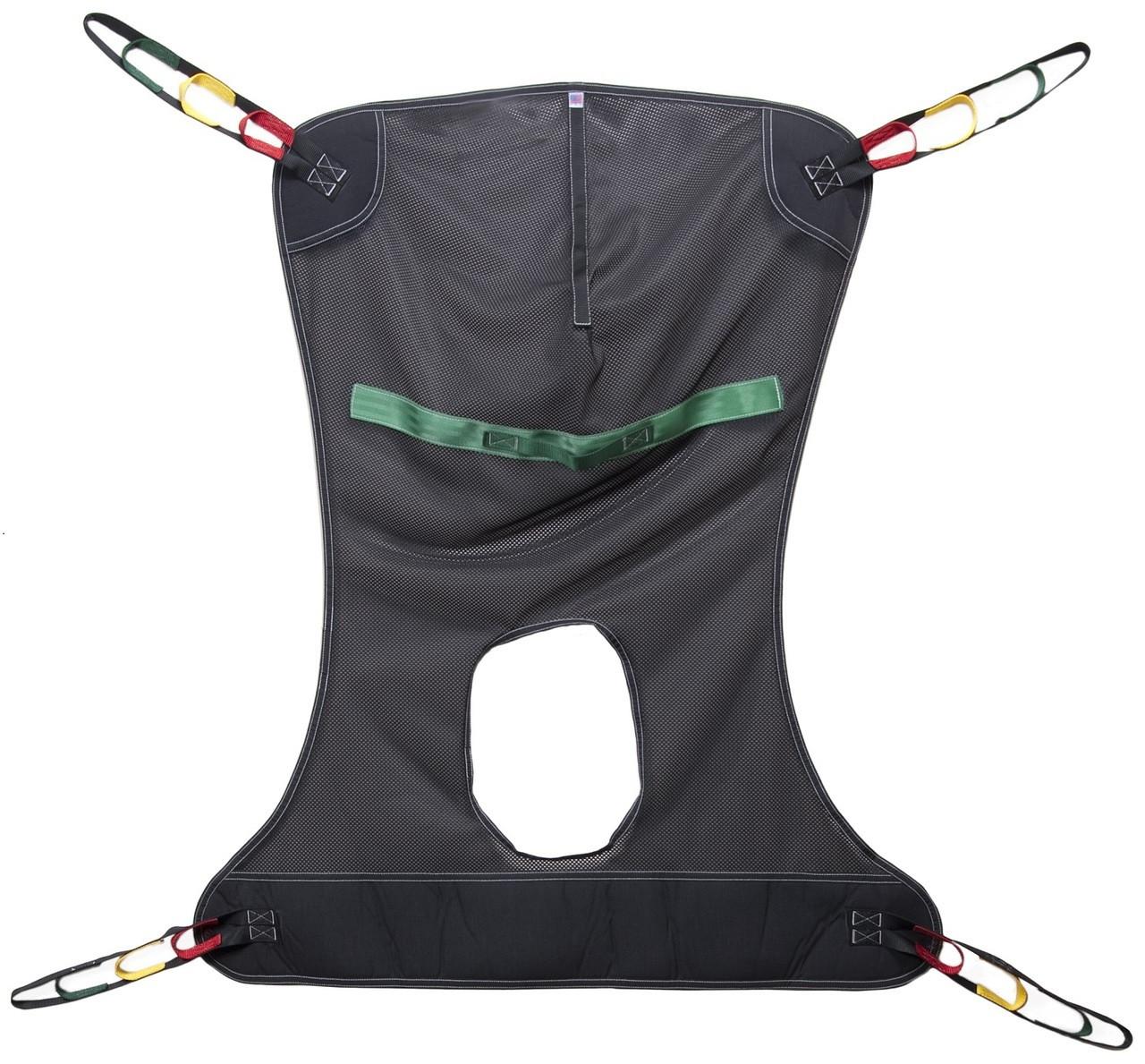 Lumex Full Body Sling - Mesh Commode - Medium - FMC114