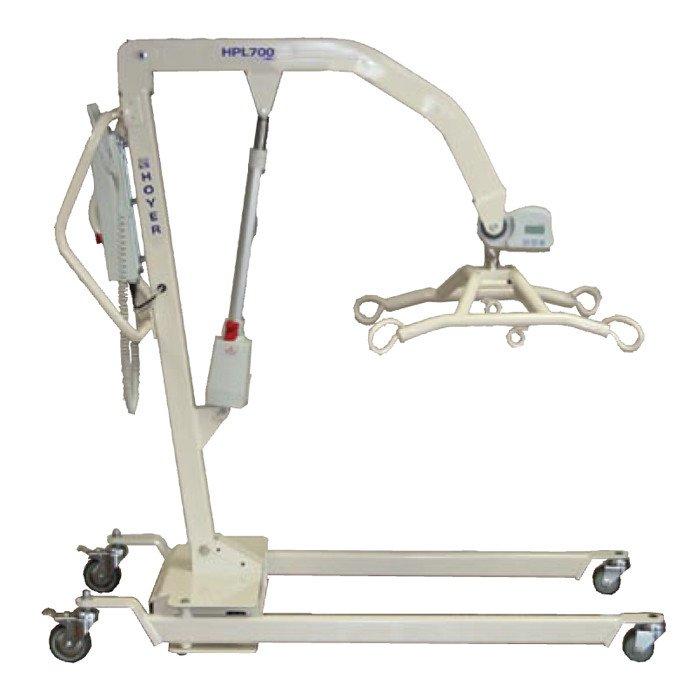 Hoyer power 700 bariatric electric patient lift for Does medicare cover bathroom equipment