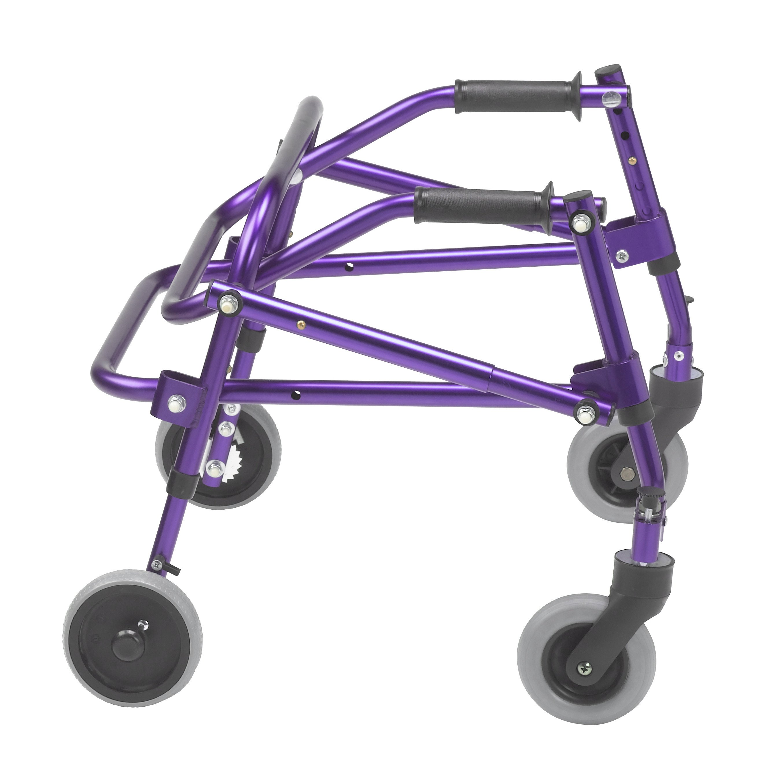 Nimbo 2G Lightweight Posterior Walker - Small - Wizard Purple - Side View