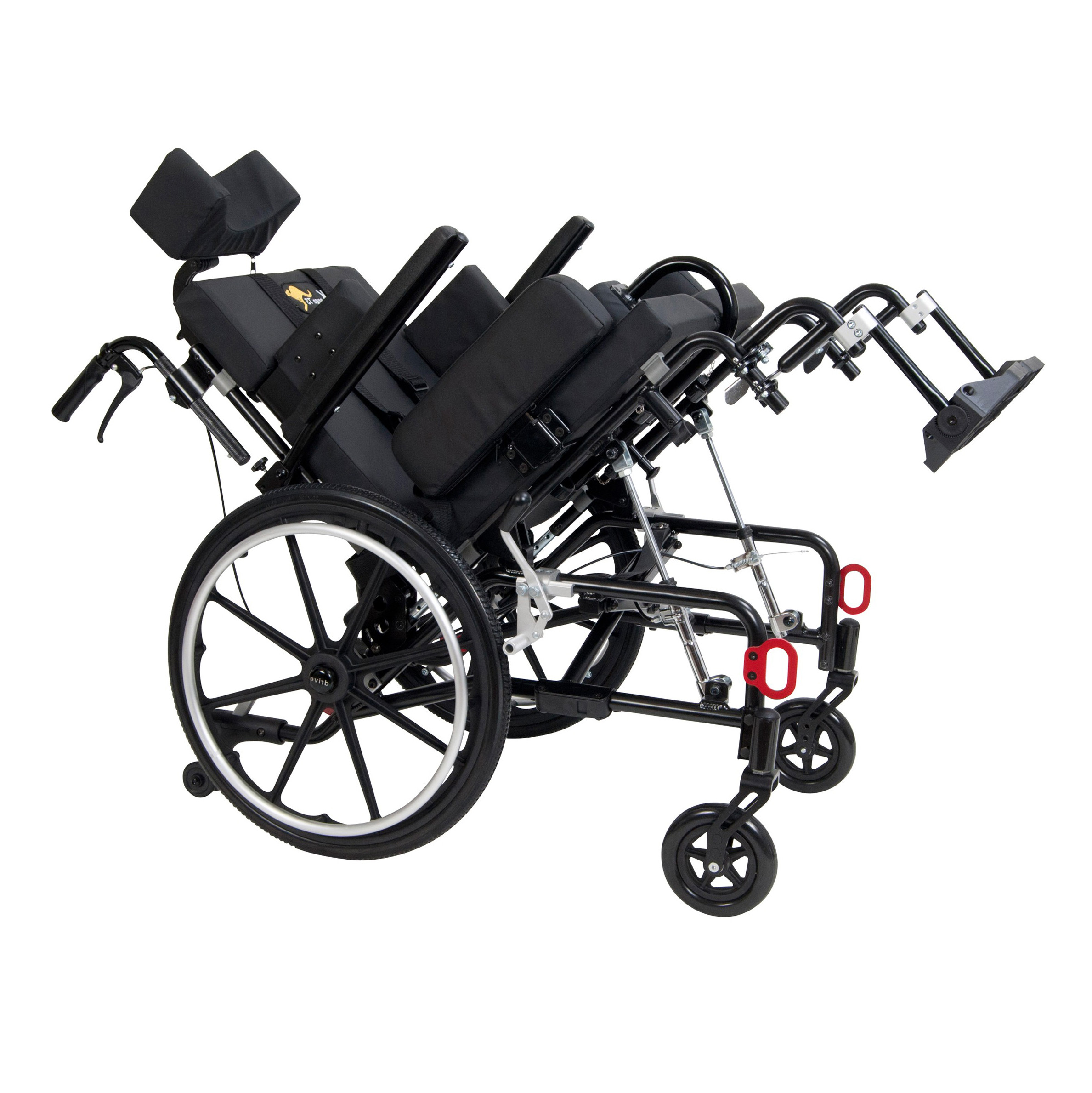 Wenzelite Drive Medical Kanga TS adult tilt-in-space wheelchair