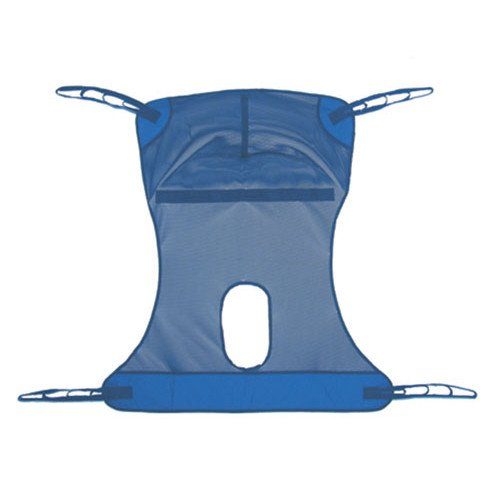 Medline Full Body Sling w/ Commode-Medium