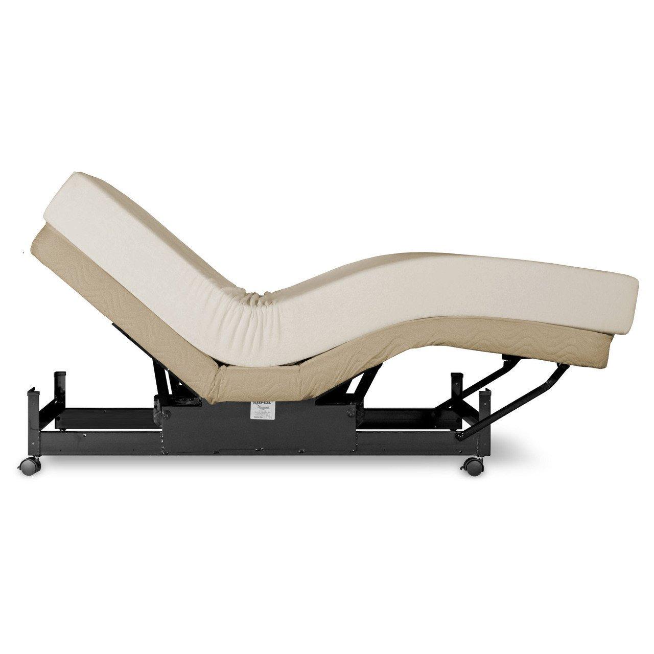 Sleep-Ezz Standard Queen XL Adjustable Bed (Wired)