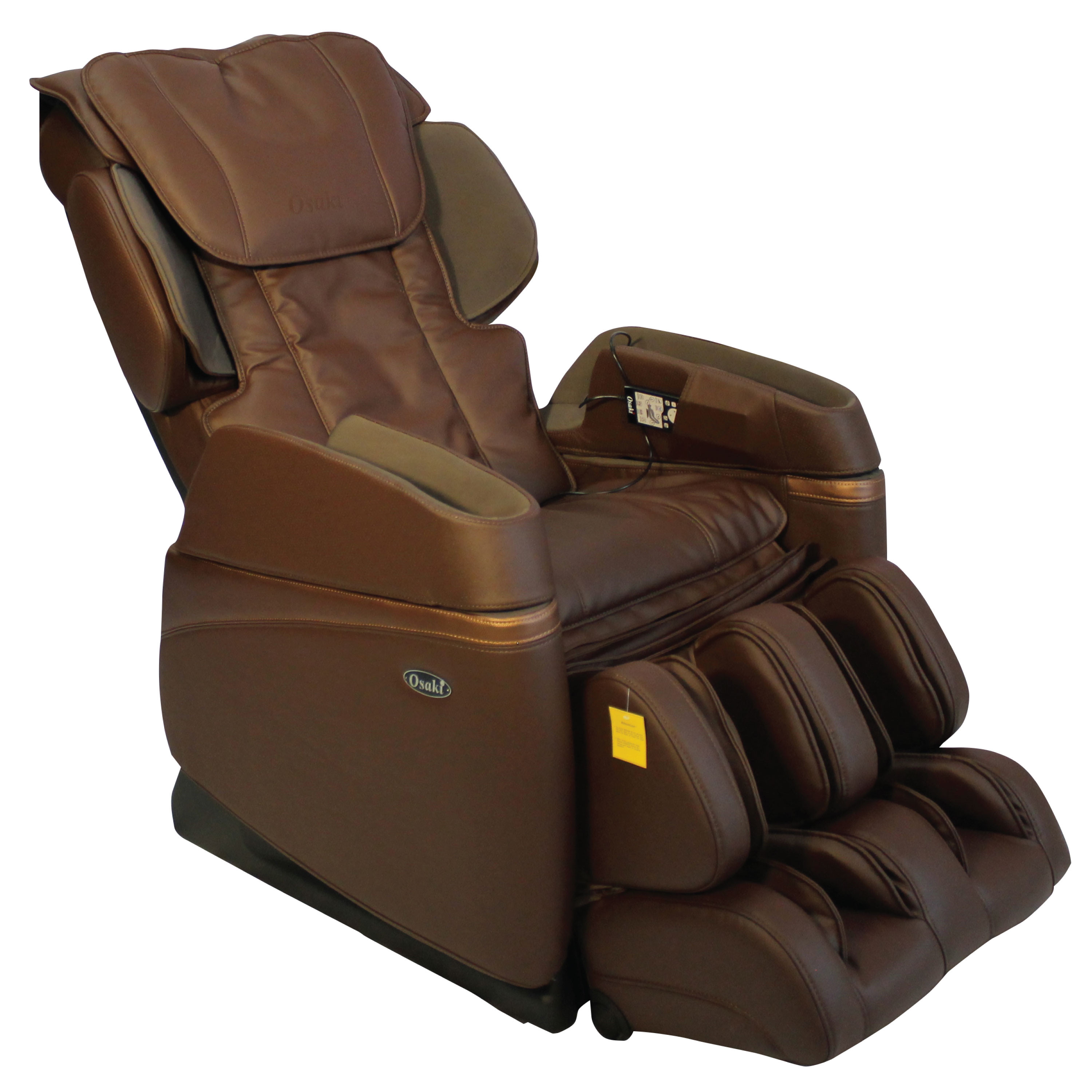 Osaki 3700 Massage Chair - Brown - Front Angle View
