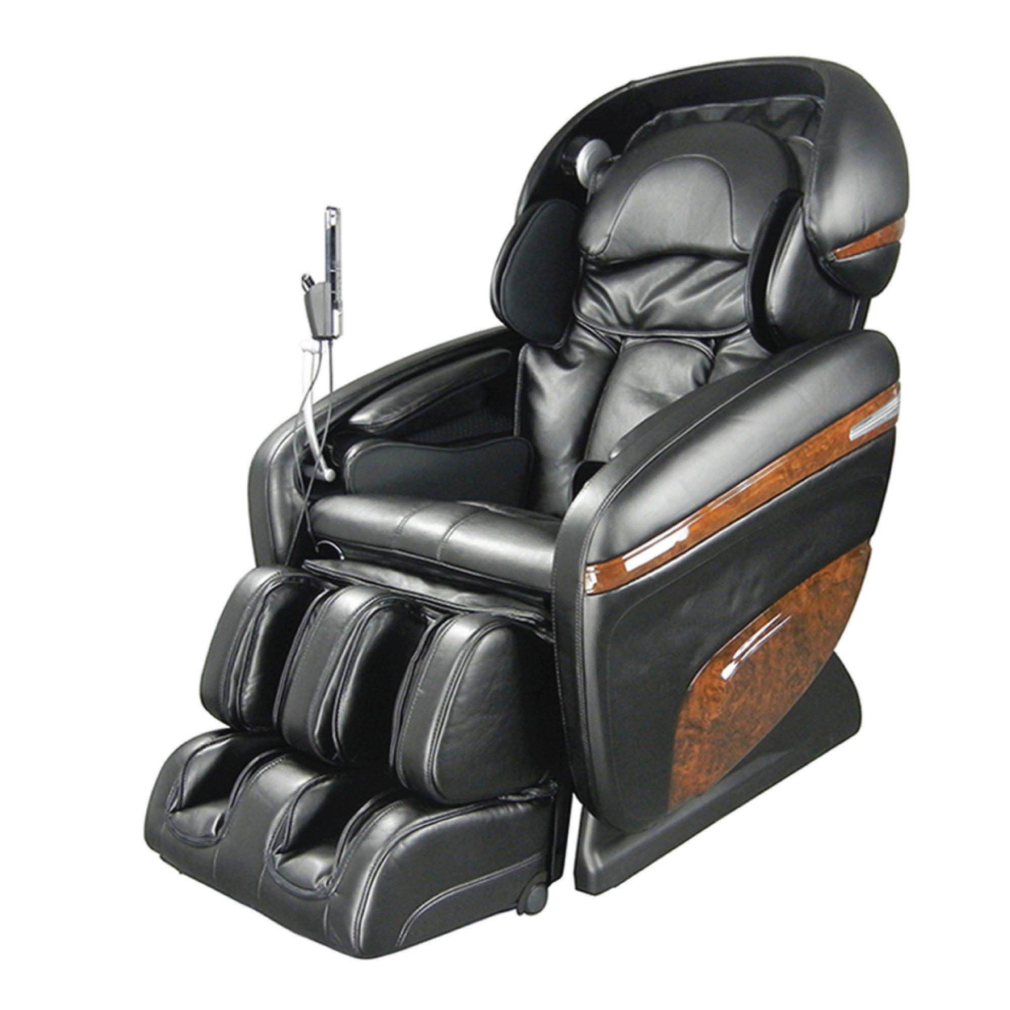 Osaki 3D Pro Dreamer Massage Chair - Black - Front Angle View