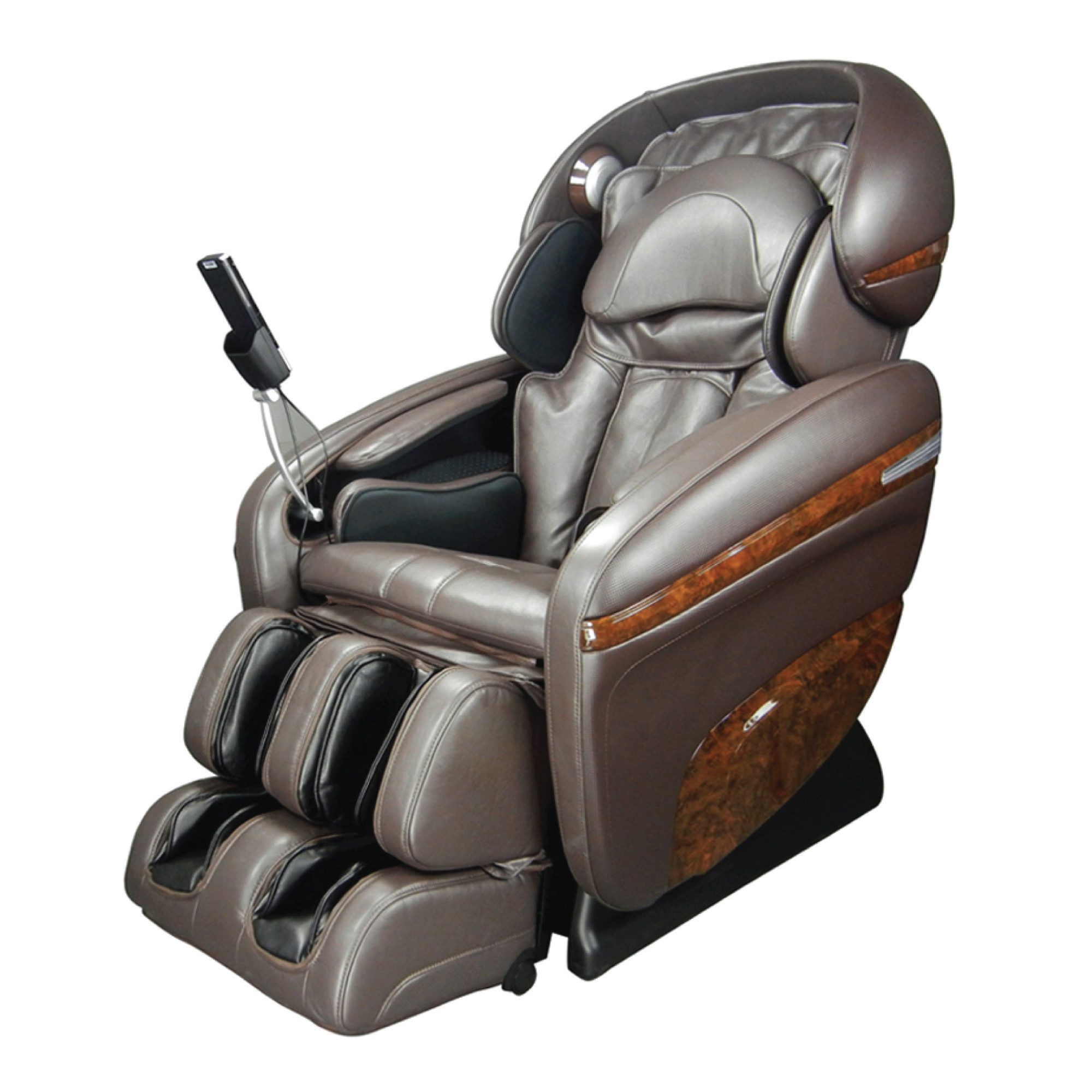 Osaki 3D Pro Dreamer Massage Chair - Brown - Front Angle View