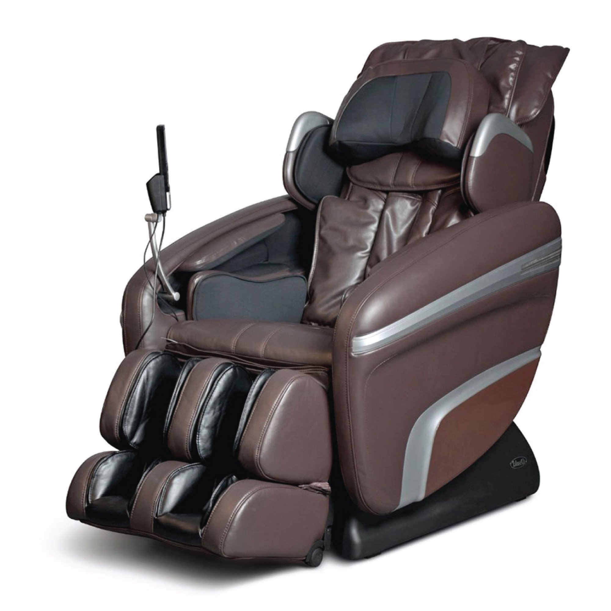 Osaki 7200H Massage Chair - Brown - Front Angle View