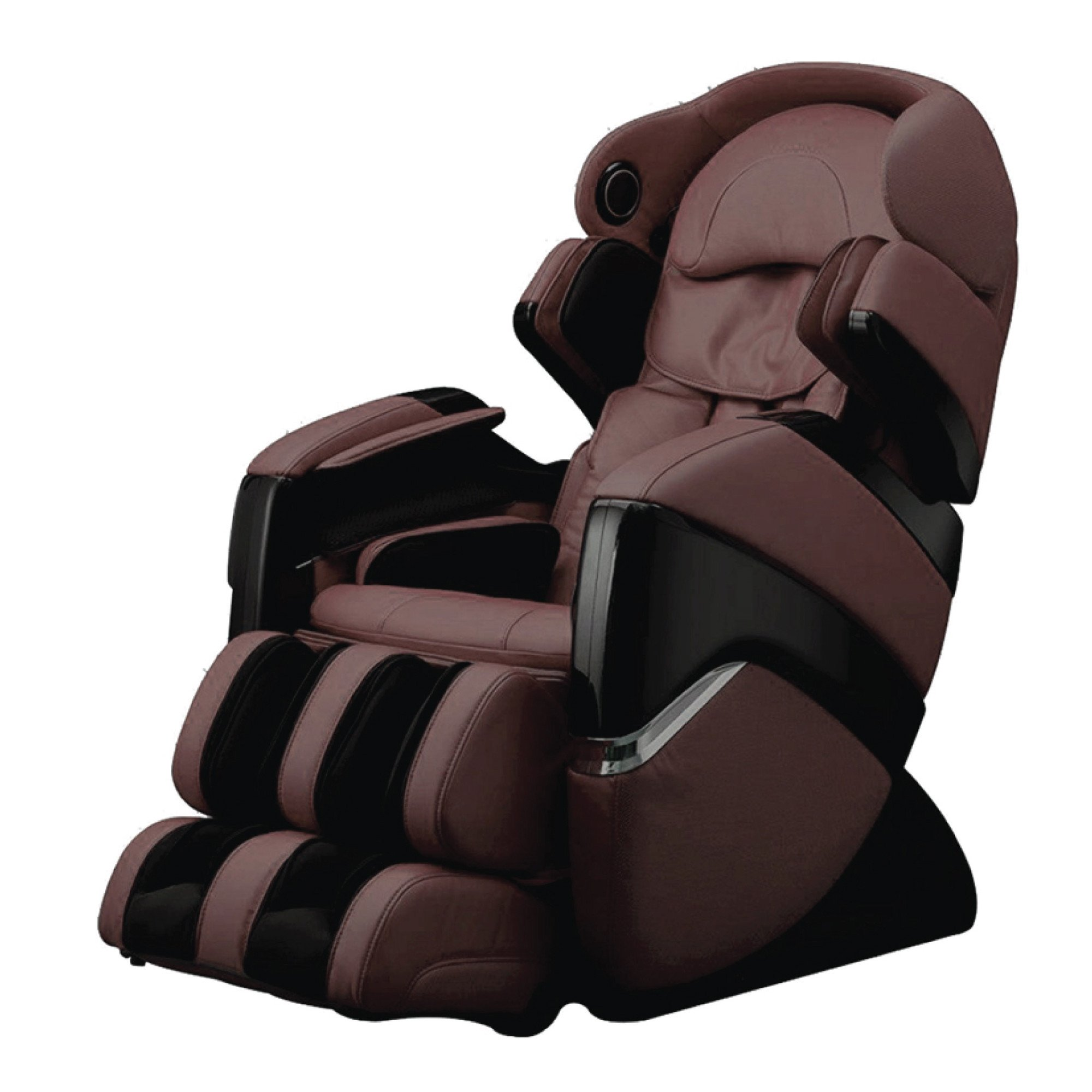 Osaki 3D Pro Cyber Massage Chair - Brown - Front Angle View