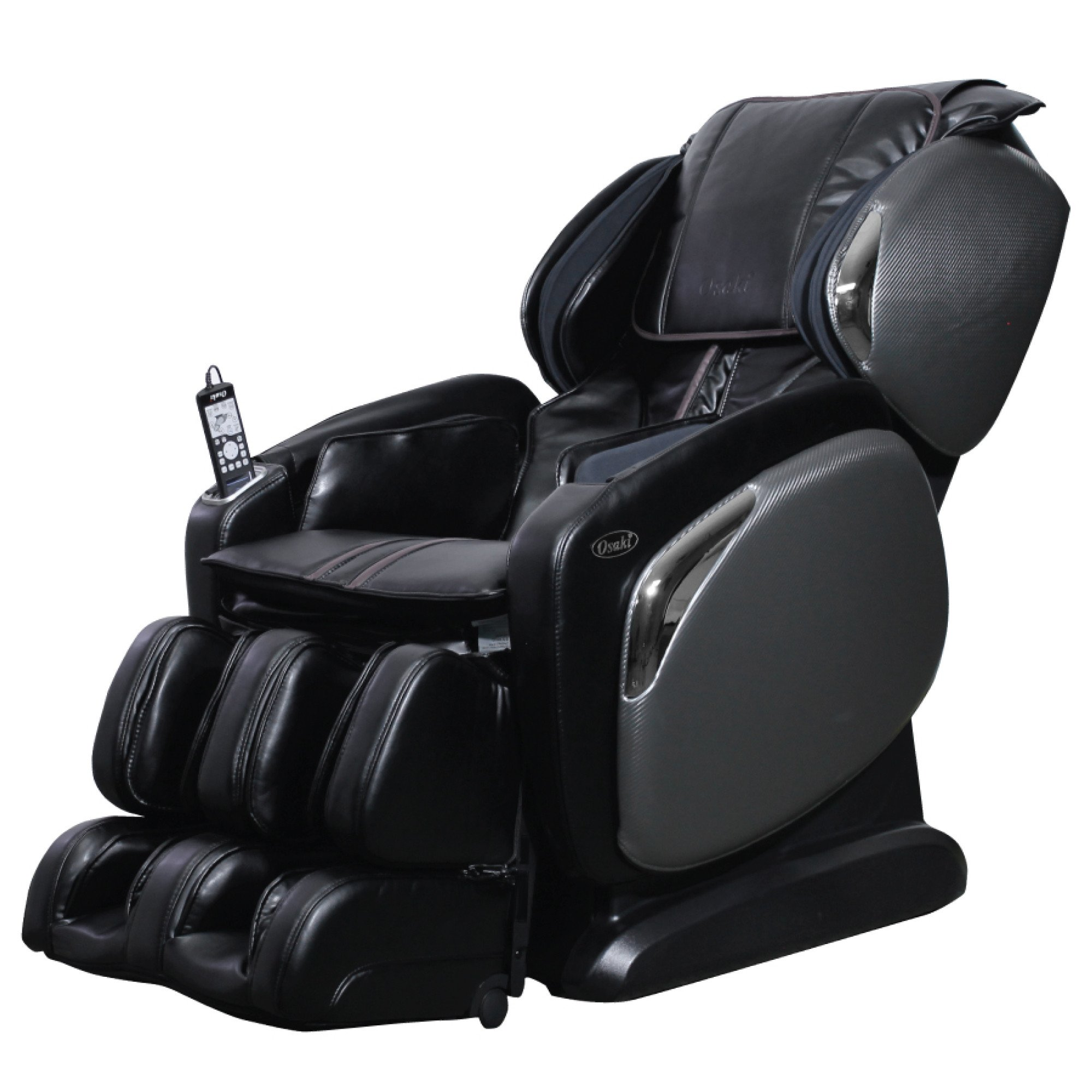 Osaki 4000LS Massage Chair - Black  - Front Angle View