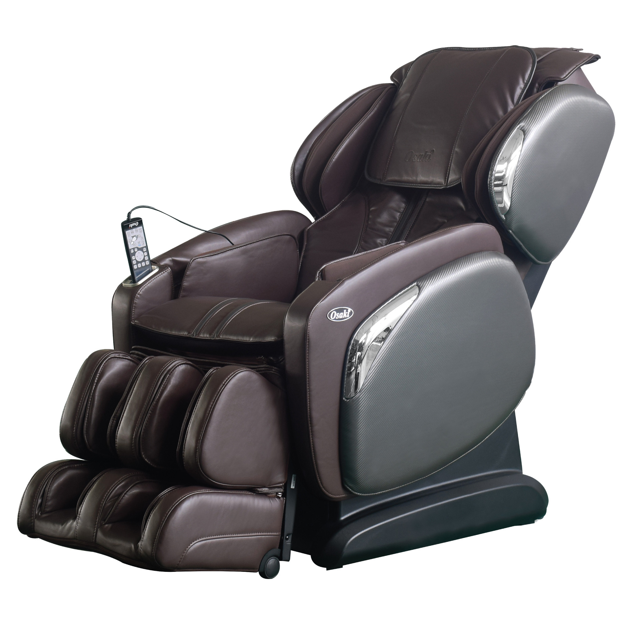 Osaki 4000LS Massage Chair - Brown  - Front Angle View