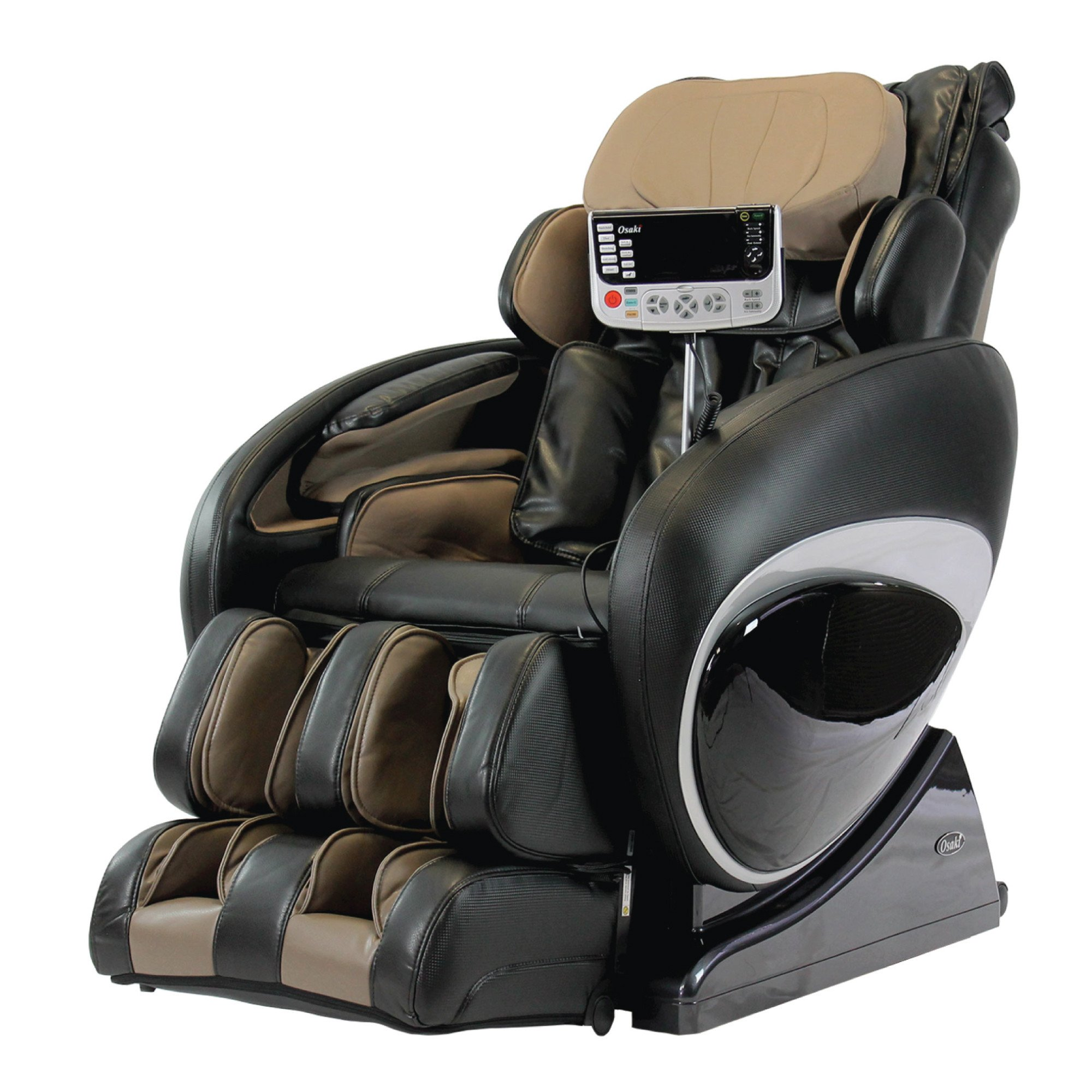Osaki 4000T Massage Chair - Black  - Front Angle View