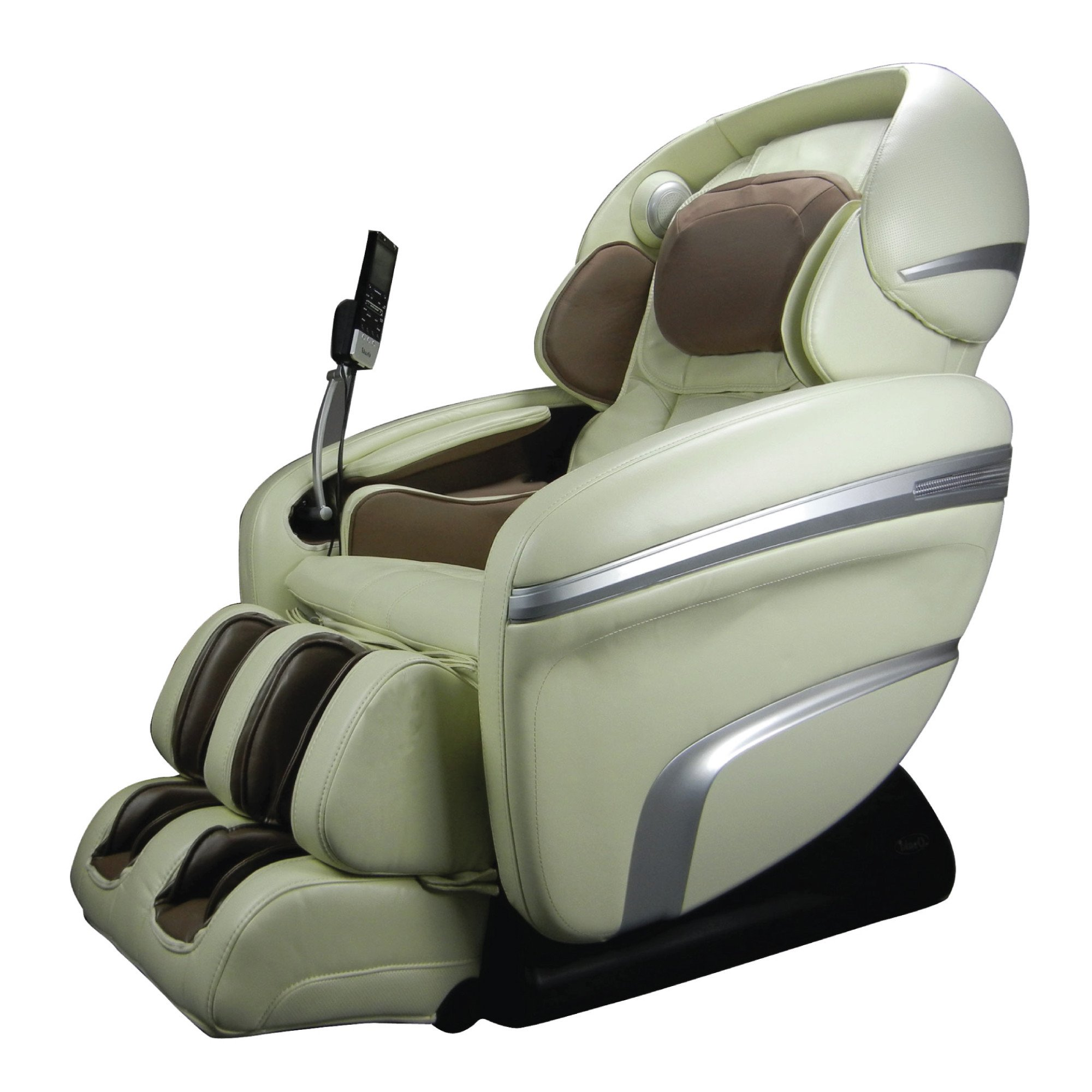 Osaki 7200CR Massage Chair - Cream - Front Angle View