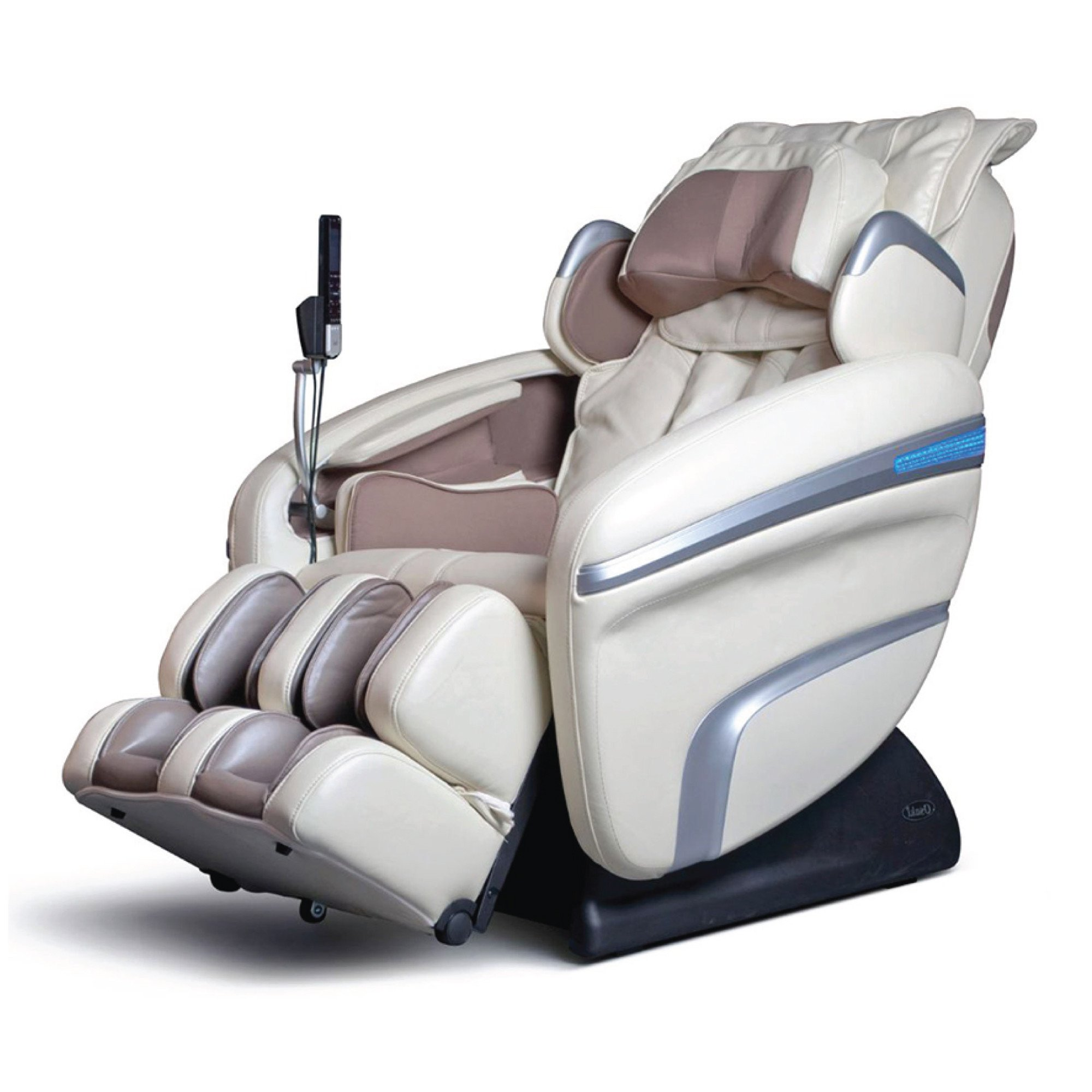 Osaki 7200H Massage Chair - Cream - Front Angle View