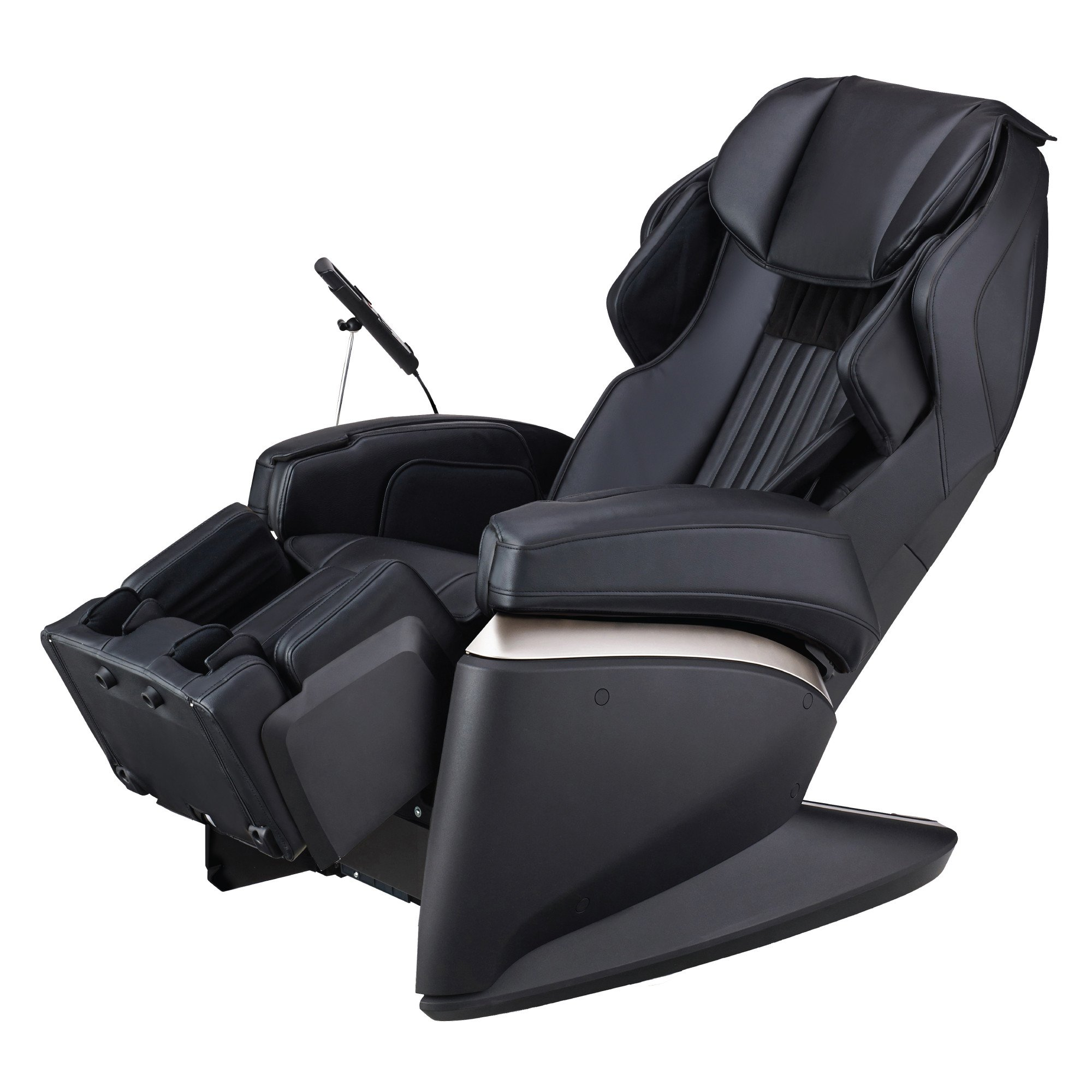 Osaki Japan 4S Premium Massage Chair - Black  - Front Angle View
