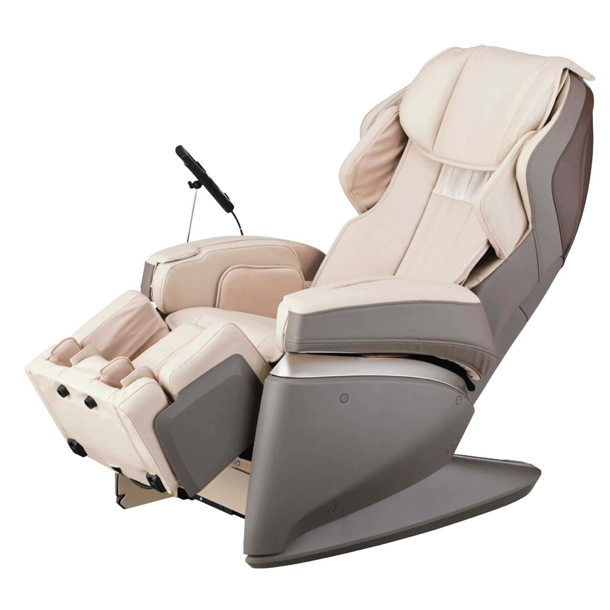 Osaki Japan 4S Premium Massage Chair - Cream - Front Angle View