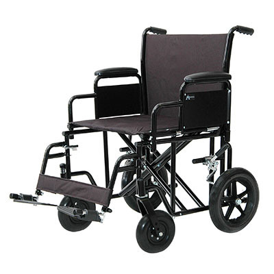 ProBasics Heavy-Duty Transport Wheelchair