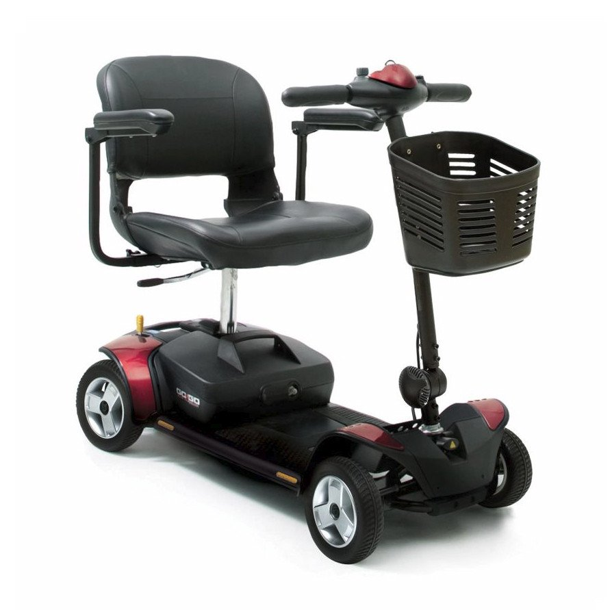 Pride Go Go Elite Traveller 4 Wheel