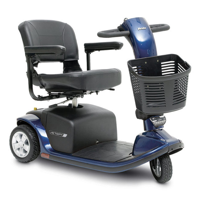 Pride Victory 9 3-Wheel Blue