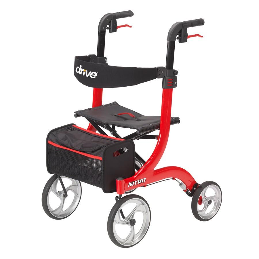 Nitro Rollator - Red