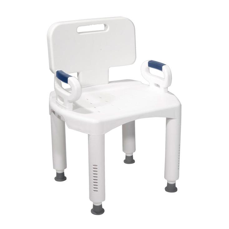Premium Series Bath Bench w/ Arms