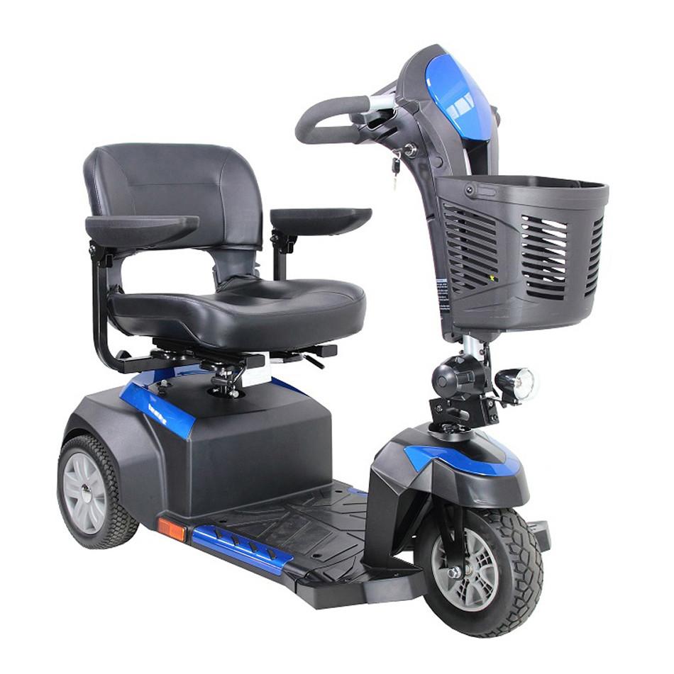 "Ventura 3-Wheel Scooter - 18"" Folding Seat"