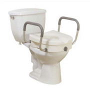 K.D. 2 in 1 Locking Elevated Toilet Seat