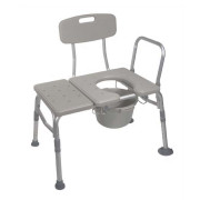 K. D. Combo Plastic Transfer Bench & Commode