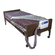 Med Aire Alternating Pressure Mattress Replacement System With Low Air Loss