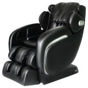 Apex Pro Ultra Massage Chair - Black - Front Angle View